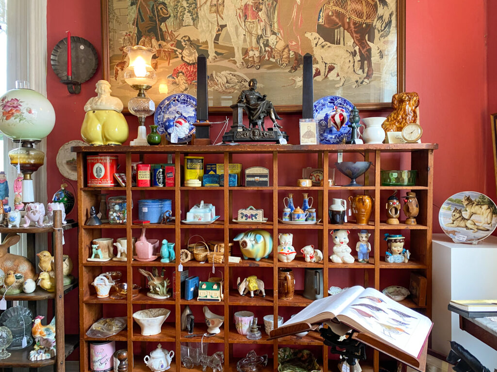 Upstate New York Town of Bouckville Antique Display