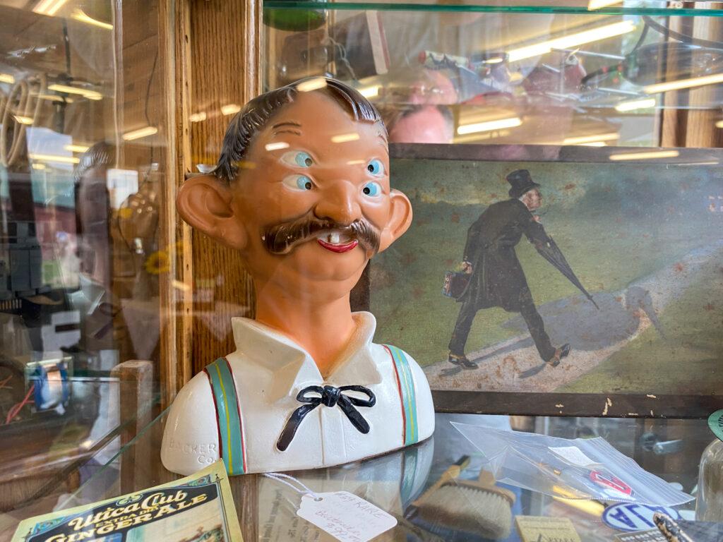 Weird Collectible in Bouckville Shop