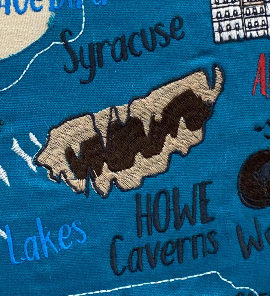 New York Pillow - Howe Caverns