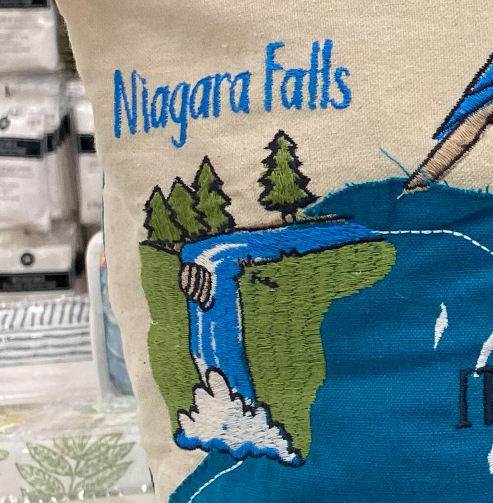 New York Pillow - Niagara Falls